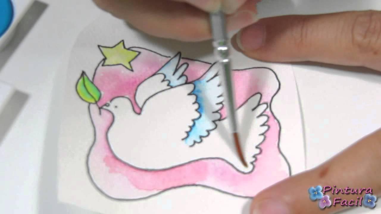 Manualidades de navidad 2014 how to watercolour coloring - Manualidades navidad faciles ...