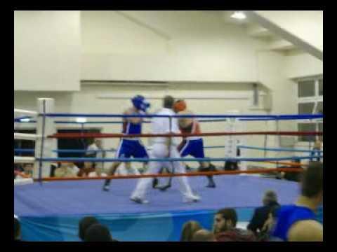 Μανώλης Αρμάγος Πυγμαχία Α Ανδρών 2009 Κρήτη αγώνας 1