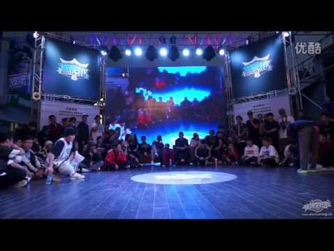 BBOY FLETA Jinjo vs BBOY NO NAME China | BOMB JAM 2014