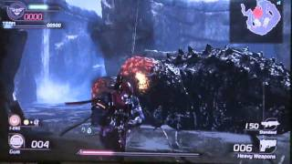 Lost Planet 2 Multiplayer Co-op Colossal Boss Fight
