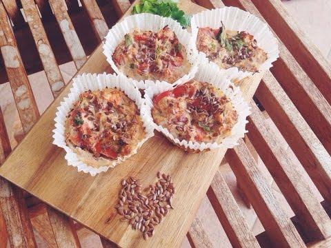 Правильное питание рецепты/Маффины из тунца.пп
