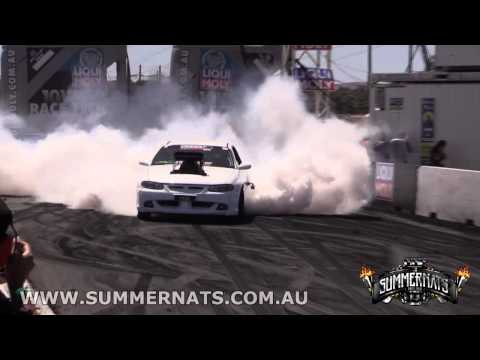 Every car from the Liqui Moly Burnout Masters Final - Summernats 27