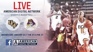 American Digital Network Women's Basketball - UCF at ECU