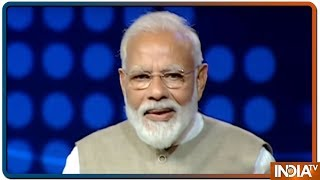 PM Modi discloses an incident of Moscow in an exclusive interview with India TV