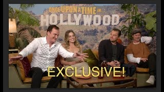 "Exclusive!!! ""Once Upon A Time in Hollywood""   Whole cast!   DiCaprio & Pitt!"