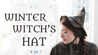 Revisiting Abandoned Projects: A Winter Witch Hat