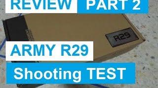รีวิว Army R29 Shooting Test || PART 2 ||60 FPS||