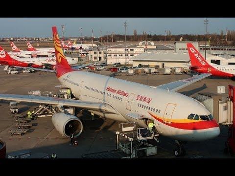 Hainan Airlines Airbus A330-200 B-6118 am Flughafen Berlin Tegel (TXL/EDDT)