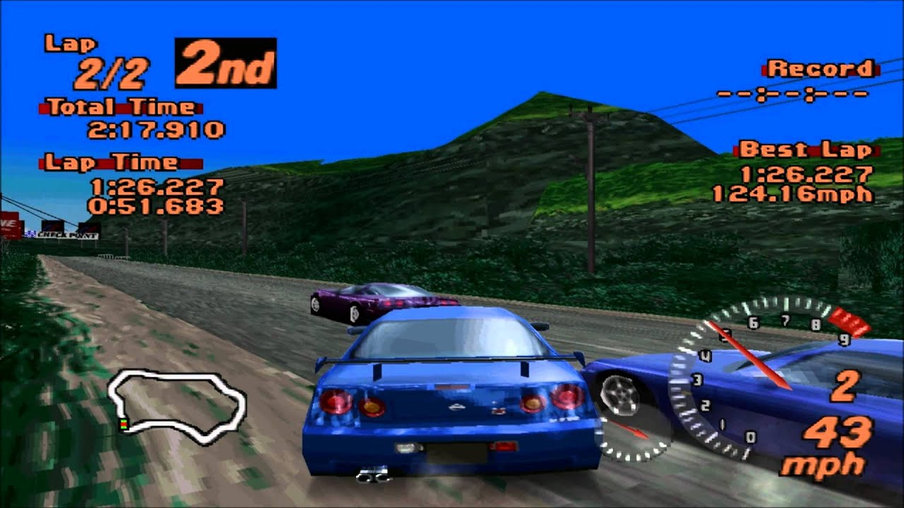Gran Turismo 2 Thaiti Road In 1080p Hd Youtube
