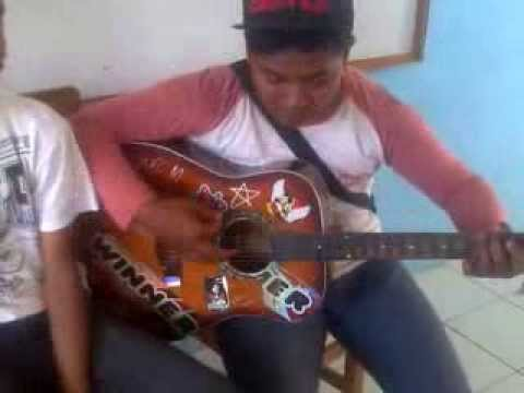 learning of the guitar, chord guitar ( Ungu - Andaiku Tahu)