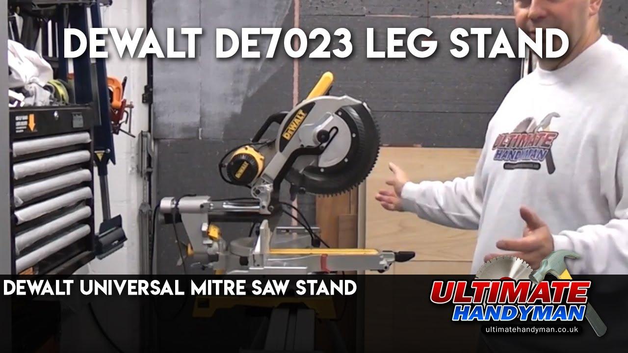 Dewalt DE7023 Leg Stand | Dewalt Universal Mitre Saw Stand ...