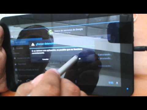 Error de descarga de Google en tabletas TechPad