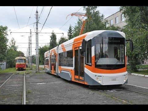 Новый трёхсекционный трамвай отправился в первый рейс по Самаре