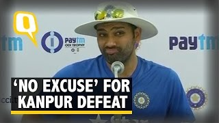 Rohit Sharma: There Are No Excuses For Losing Kanpur ODI,