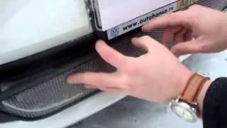 Видео: Установка защиты радиатора WV Polo хром