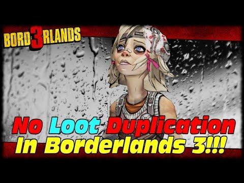 No Duplicating Loot Or Quest Reward Farming In Borderlands 3!!! Borderlands 3 Always Online Cloud!