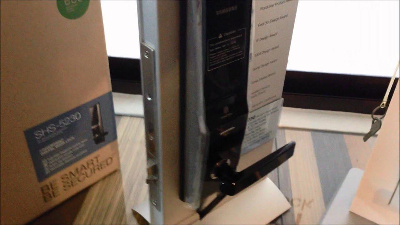 Samsung Shs 5230 Facelift Biometric Digital Mortice Locks