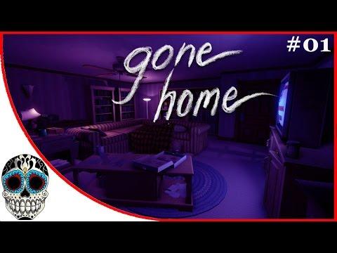 GONE HOME #01 | No hay nadie en la casa!!