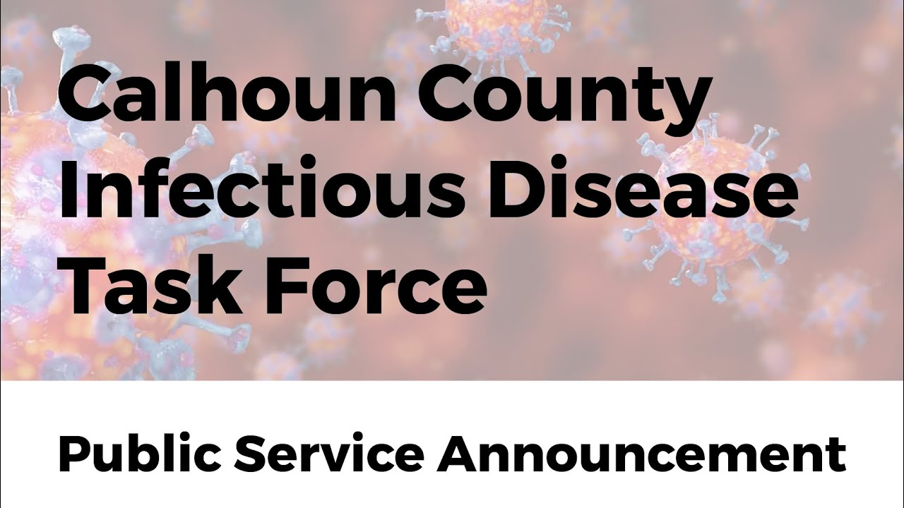 Calhoun County Infectious Disease Task Force PSA