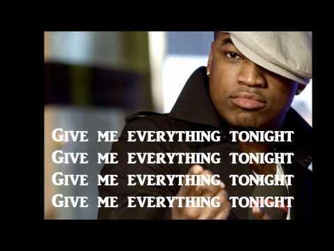 Pitbull Ft. Neyo, Nayer, and AfroJack- Give Me Everything Lyrics On Screen