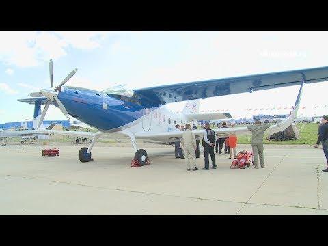 Модернизированный Ан-2 на МАКС 2017