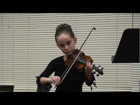 2009-12-11 01 - Grace Covenant Academy Music Recital Ashleigh Violin.mpg - 12/21/2009