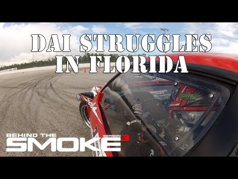 Formula Drift Round 3 - West Palm Beach - Dai Struggles - Behind The Smoke Season 3 - Ep 9