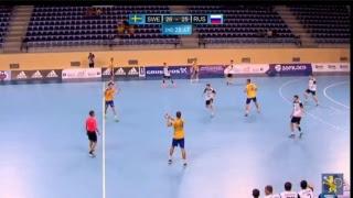 Швеция до 19 : Россия до 19