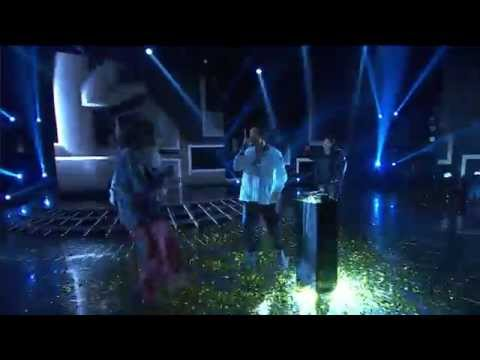 Beau Monga performing his winners single 'King And Queen' - The X Factor NZ on TV3 - 2015