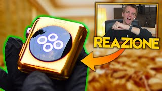 CREA L'APPLE WATCH D'ORO 24K - REAZIONE