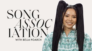 """Download lagu Bella Poarch Sings SZA, Jessie J and """"Build a B*tch"""" in a Game of Song Association   ELLE"""