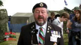 Falklands Veterans at The War and Peace Show 2012
