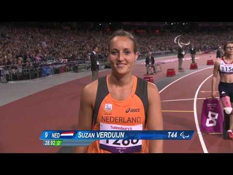 Athletics - Women's 200m - T44 Final - London 2012 Paralympic Games