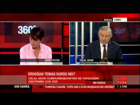 CELAL ADAN 12.6.2015 CNN TÜRK TV