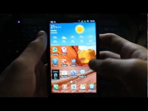 Review Samsung Galaxy Note GT-N7000 en Español
