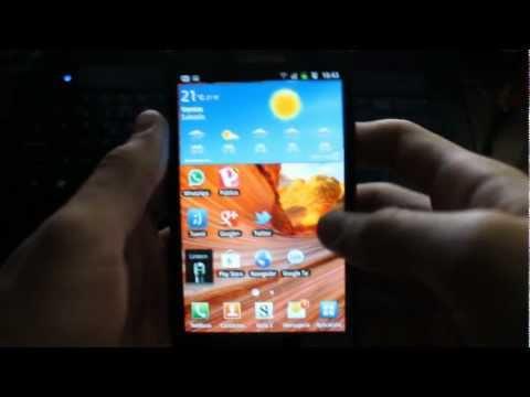 Review Samsung Galaxy Note GT-N7000 en Español