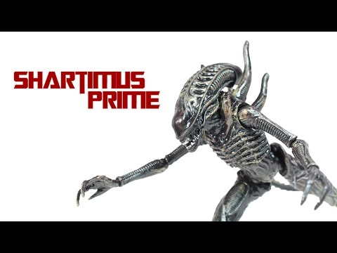 Aliens Colonial Marines Soldier Alien Hiya Toys 4 Inch Video Game Action Figure Review