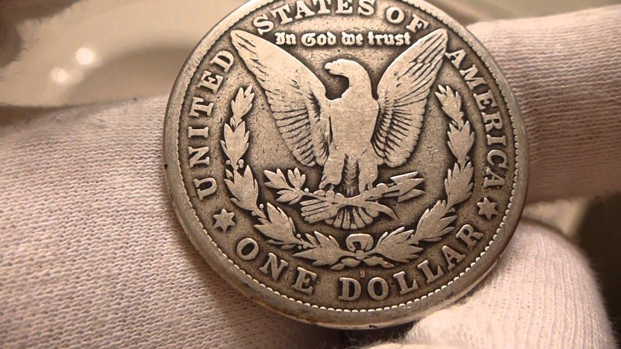 1921 S Morgan Silver Dollar Coin Review Youtube