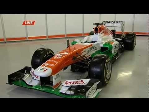 FORCE INDIA F1 TEAM - FULL PRESENTATION VJM06 - FORMULA ONE CHAMPIONSHIP 2013