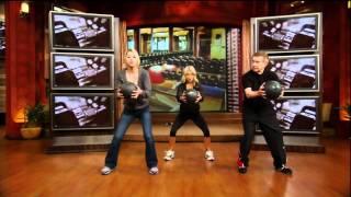 [HD] Anna Kournikova Interview On Live With Regis & Kelly 09-20-2011 (Part 2)