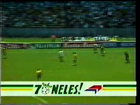 Copa do Mundo de 1986: Brasil  x  Argélia  narração  pt br