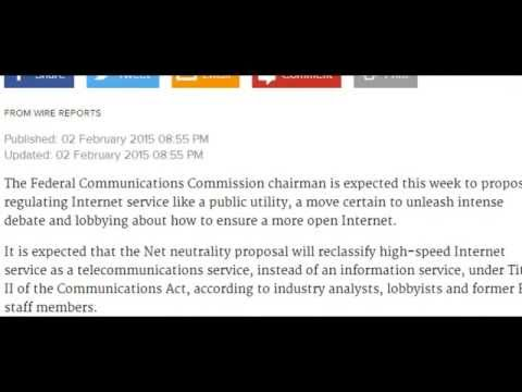 FCC expected to push #NETNeutrality Audio Read New York Times