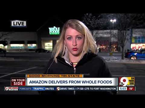 Amazon Prime offering free 2-hour delivery of Whole Foods products in Cincinnati