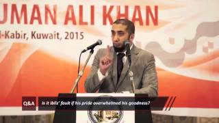 When something bad happens because i am a bad person? By Nouman Ali Khan Kuwait Q&A
