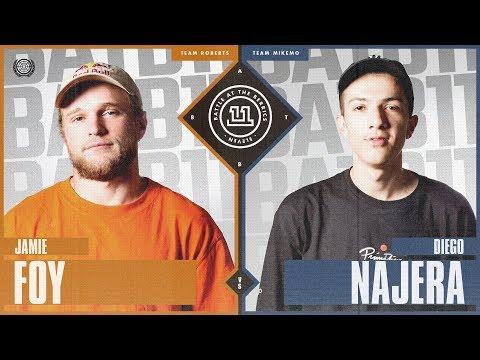 BATB 11: Jamie Foy vs Diego Najera