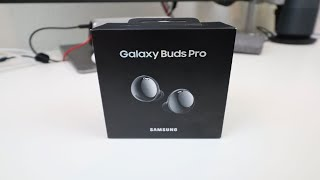 01. Samsung Galaxy Buds Pro Unboxing, Setup and Walkthrough