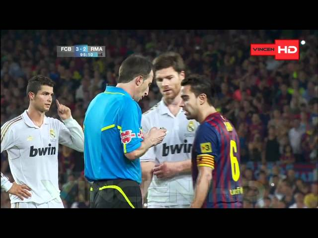 Pelea en la supercopa de Barcelona vs Real Madrid 720p