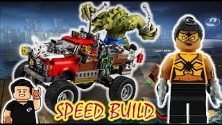 Lego Batman Movie CONSTRUYAMOS el Set Killer CrocTail-Gator Lego Speed Build