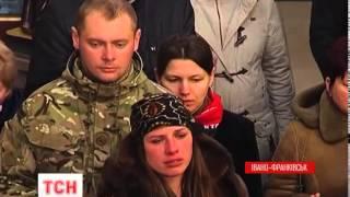 Суми попрощалися з бійцем «Кривбасу», Івано-Франківськ – з бійцем «Правого сектора» - (видео)