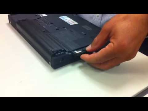 How to replace a hard drive for a Lenovo